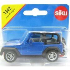 NEW Siku Jeep Wrangler Die Cast Toy Car 1342