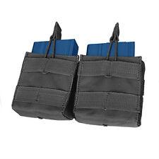 CONDOR MOLLE Modular Nylon Double Open Top .308 or 7.62 Mag Pouch ma24 BLACK