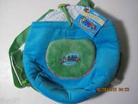 Webkinz Knapsack Pet Carrier Blue did not come with a code Ganz HC102