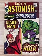 Tales to Astonish #60 (Marvel Comics) Hulk and Giant-Man appearance