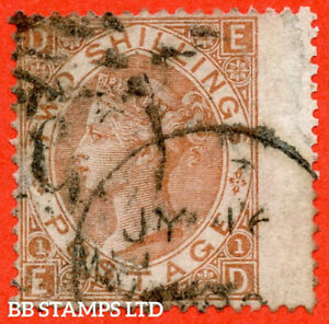 """SG. 121. J120. """" ED """". 2/- Brown. A """" 16th July """" CDS used example of thi B56441"""