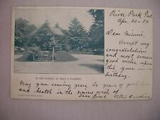 VINTAGE POSTCARD OF THE GROUNDS AT ST. MARY'S ACADEMY IN INDIANA UDB 1904
