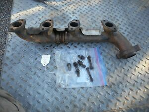 Mercedes Benz W116 M117 450SE Right Exhaust Manifold & Heat Shield Passenger