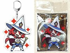 "Little Witch Academia Deka Key Chain Chariot du Nord 3.9"" TRIGGER Licensed New"