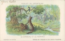 LAFONTAINE Corbeau et Renard French author 1900s PC