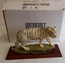 More details for shudehill siberian white tiger. boxed in excellent condition *rare*
