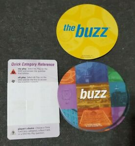 Friends Scene It Buzz Replacement Cards (30) & 4 Reference Cards