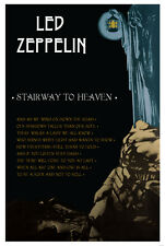 Led Zeppelin Stairway to Heaven Music Poster 24x36""