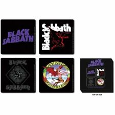Black Sabbath Classic Icons Drinks Coasters Album Cover Gift Set Box Official