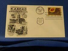 Scott #1183 4 Cent Stamp Honoring Kansas Statehood First Day Issue