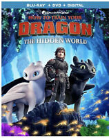 How to Train Your Dragon: Hidden World (Blu-ray+Case, 2019)