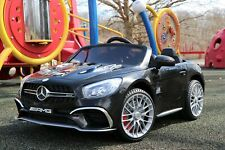 First Drive Mercedes Benz Sl Black 12v Kids Cars