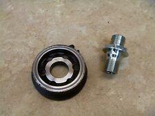 Kawasaki 750 Z750-S ZR750 Z750S Used Engine Oil Filter Cover & Bolt 2006 KB67