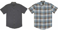 NEW!! Grizzly Mountain Men's Short Sleeve Woven Button Down Shirt Variety #200