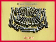 Hyosung Aquila GV 125  Schraubensatz Edelstahlschrauben Motor und Verkleidung