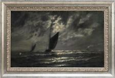 MANNER OF JAMES GALE TYLER, American, Early 20th Century, Boats under... Lot 913