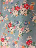 Cath Kidston Ditsy Mews mercería chatarra de tela de algodón 144 X 20