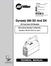 Miller Dynasty 200 Sd Amp Dx Effective With Lk450153l Service Manual