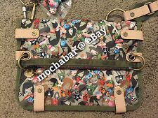 NWOT TOKIDOKI LESPORTSAC PARADISO CIAO CIAO camouflage Crossbody Bag W/ QEE RARE