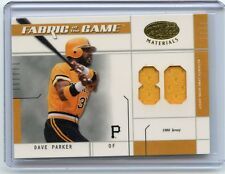 2003 LEAF CERTIFIED #FG-128 DAVE PARKER JERSEY CARD #19/80, PITTSBURGH PIRATES