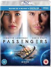 Los pasajeros 3D (Blu-ray 3D, Blu-ray, 2017) Jennifer Lawrence Chris Pratt