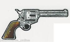 GUN - SIX SHOOTER - PAIR - HELMET STICKER