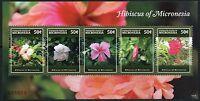 MICRONESIA 2015  FLOWERS SHEET I OF FIVE MINT NH