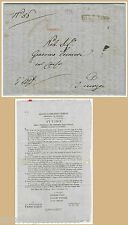 57042 - LOMBARDO VENETO - STORIA POSTALE - BUSTA PREFILATELICA da BASSANO 1831