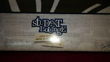 Student Lounge Black Scroll Wall Hanging/Bed Cover/Chair Futon Cover . New