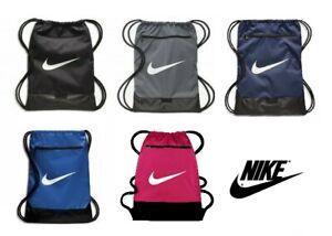 Nike Brasilia Gym Sack Bag School PE Football Training Gymbag Gymsack Sports