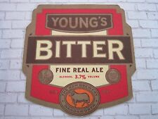 Beer Bar Coaster ~ ~ The RAM BreweryYOUNG'S Fine Real Ale 3.7% ~ London, ENGLAND