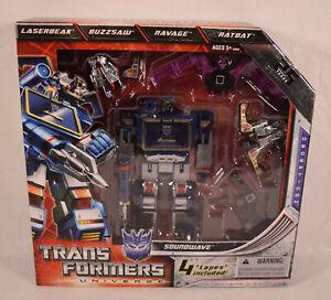 Transformers G1 Universe Commemorative Edition Soundwave with Buzzsaw, Laserbeak