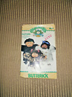 Sew Cabbage Patch Kids Clothes   Butterick Pattern #6984  Furry Coat & Hat  CPK