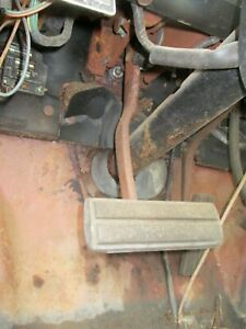 65 66 FORD GALAXIE AUTOMATIC BRAKE PEDAL WITH HANGER SUPPORT BRACE 1965 1966