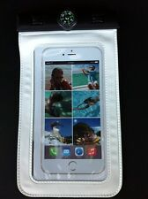 Travellor Waterproof Case With Compass White Fits iPhone 6