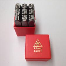 "Metalwork Number Stamp Set Jewellery Making Tools 10mm 3//8/"" M9024"