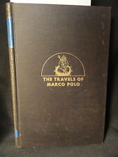 The Travels of Marco Polo 1930 HC Komroff Translation