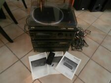 TECHNICS Home Stereo System S-3811 / SL-BD20 / RS-TR313 / SL-PD607 / W/ SPEAKERS