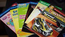 Cars Book Lot 6 Books Spiderman Step Into Reading Level 1 Teacher Class  --TT=