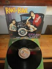 "Stray Cats ‎""Rant N' Rave With The Stray Cats"" LP EMI AMERICA USA 1983 - INNER"