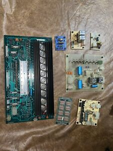 Untested Sirmo New Orleans Bingo Pinball Pcb  Boards And Miscellaneous parts