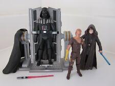 Rebuild Darth Vader Anakin Skywalker Battle Damage Star Wars Action Figure Lot