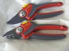 1 x EACH OF Wolf-Garten  Secateurs 25mm Large RS/RR4000