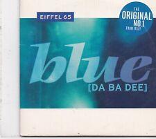 Eiffel 65-Blue cd single