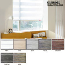 Window Blinds Light Filtering Zebra Shade CLAVIER Fabrics Anti Uv Custom Made