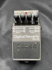 BOSS Digital Reverb RV 5 - Gitarreneffektgerät - Effektgerät - Gitarre
