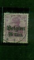 Belgien, auf Germania Nr. 21 gestempelt