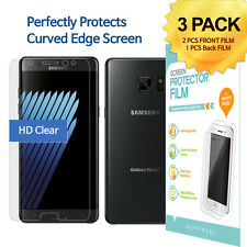 FrontBack Screen Full Cover Screen Protector Clear Film for Galaxy Note 7 Note7