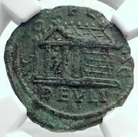 GORDIAN III 238AD Ancient Deultum Thrace Roman Coin APHRODITE TEMPLE NGC i80784