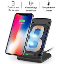Induktive Ladestation Qi Wireless Charger Induktion Ladegerät Kabellos für Handy